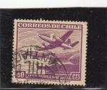 Sellos de America - Chile -  LINEA AEREA NACIONAL