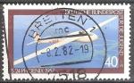 Sellos de Europa - Alemania -  Por el bienestar de la Juventud ( Phoenix FS 24 planeador, 1957).