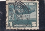 Stamps Chile -  LINEA AEREA NACIONAL