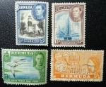 Sellos de America - Bermudas -  Medallas, Barco de Vela