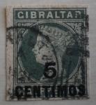 Stamps Gibraltar -  Personaje