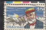 Stamps United States -  SAMUEL F.LANGLEY- pionero de la aviación