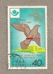 Sellos de Asia - Corea del norte -  1874-1974 Cien años de progreso
