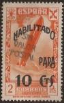 Sellos de Europa - España -  Asociación Benéfica de Correos. Orfanato  1940  2 pts habilit a 10 cts