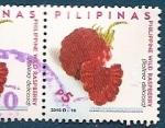Sellos del Mundo : Asia : Filipinas : Frambuesa