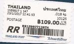 Stamps Asia - Thailand -  etiqueta postal