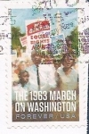 Stamps : America : United_States :  Marcha sobre Washington 1963