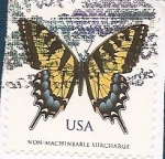 Stamps : America : United_States :  Mariposa
