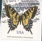 Sellos del Mundo : America : Estados_Unidos : Mariposa