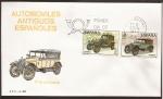Stamps Spain -  SPD Aut Ant Españoles. Hispano Suiza y Elizalde  23 abr 1977  9ptas