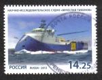 Stamps Russia -  Buque de investigación