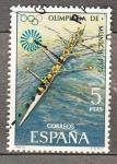 sellos de Europa - España -  Olimpiada de Munich (978)