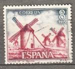 Sellos de Europa - España -  Molinos de la Mancha (985)