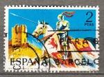 sellos de Europa - España -  Guardia de Castilla (986)