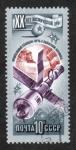 Stamps Russia -  20 Aniversario de la Exploración Espacial