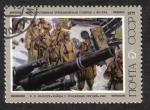 Sellos de Europa - Rusia -  'Soldados con cañones capturados