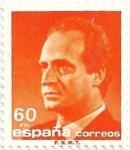 sellos de Europa - España -  SERIE BÁSICA JUAN CARLOS I. IIa SERIE. VALOR FACIAL 60 Pts. EDIFIL 3006