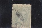 Sellos de America - Cuba -  Alfonso XIII (pelon)