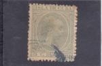 Stamps Cuba -  Alfonso XIII (pelon)