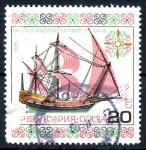 Stamps Bulgaria -  BULGARIA_SCOTT 3110 BARCO MEDITERRANEO. $0,2