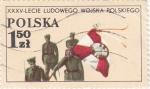 Sellos de Europa - Polonia -  S O L D A D O S