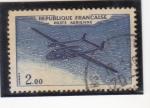 sello : Europa : Francia : AVION NORATLAS