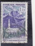 Sellos de Europa - Francia -  IGLESIA DE CILAOS-REUNIÓN