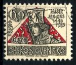 Stamps : Europe : Czechoslovakia :  CHECOSLOVAQUIA_SCOTT 1328 550º ANIV MURTE DE HUS, RELIGIOSO REFORMISTA. $0,2