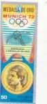 Stamps : Africa : Equatorial_Guinea :  OLIMPIADA MUNICH-72