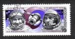 Sellos del Mundo : Europa : Rusia : Día del Cosmonauta