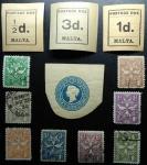 Sellos de Europa - Malta -  1925 las tarifas portuarias