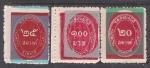 Sellos de Asia - Tailandia -  1963 cambio de color