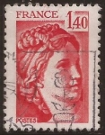 sellos de Europa - Francia -  Sabine de Gandon  1980 1,40 ff