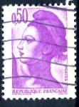 Sellos del Mundo : Europa : Francia :  FRANCIA_SCOTT 1789.03 LIBERTAD INSPIRADA EN DELACROIX. $0,2