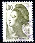 sellos de Europa - Francia -  FRANCIA_SCOTT 1794.02 LIBERTAD INSPIRADA EN DELACROIX. $0,2