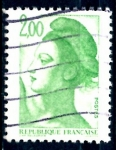 Sellos de Europa - Francia -  FRANCIA_SCOTT 1882.01 LIBERTAD INSPIRADA EN DELACROIX. $0,2