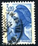 sellos de Europa - Francia -  FRANCIA_SCOTT 1887.04 LIBERTAD INSPIRADA EN DELACROIX. $0,9