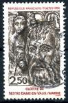 Sellos del Mundo : Europa : Francia :  FRANCIA_SCOTT 1998.01 CLAUSTRO DE NOTRE-DAME-EN-VAUX, MARNE. $0,4