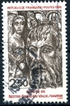 Sellos de Europa - Francia -  FRANCIA_SCOTT 1998.02 CLAUSTRO DE NOTRE-DAME-EN-VAUX, MARNE. $0,4