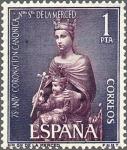 Sellos de Europa - España -  ESPAÑA 1963 1523 Sello Nuevo Coronación Ntra. Sra. De la Merced Virgen de la Merced