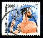 Sellos del Mundo : Europa : Grecia :  GRECIA_SCOTT 1555 POSEIDON. $0.45
