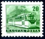 Sellos de Europa - Hungría -  HUNGRIA_SCOTT 1508 TROLEBUS. $0,2