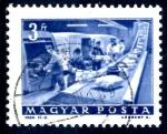 Stamps : Europe : Hungary :  HUNGRIA_SCOTT 1523.01 CINTA TRANSPORTADORA. $0,2