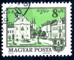 Stamps Hungary -  HUNGRIA_SCOTT 2333 IGLESIA Y CIUDAD DE VAC. $0,2