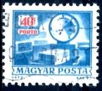 Sellos de Europa - Hungría -  HUNGRIA_SCOTT J267 ESCALAS EN EL AUTOSERVICIO. $0,2