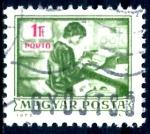 Stamps : Europe : Hungary :  HUNGRIA_SCOTT J269 OPERADOR TECLADO. $0,2