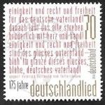 Stamps Germany -  Escrito