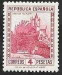 sello : Europa : España : 674 - Alcázar, de Segovia