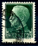 Stamps : Europe : Italy :  ITALIA_SCOTT 218 REY VICTOR ENMANUEL III. $0,2