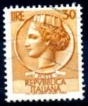 Sellos del Mundo : Europa : Italia : ITALIA_SCOTT 785 ITALIA SEGÚN MONEDA SIRACUSA. $0,2